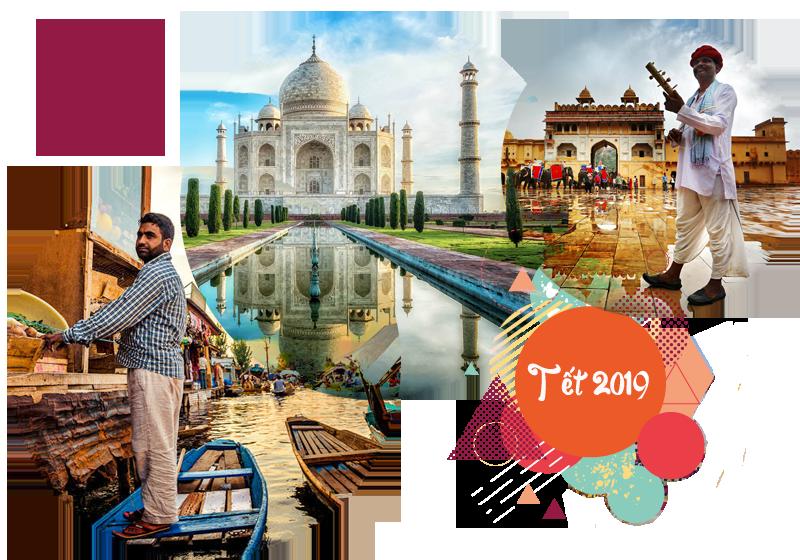 Tour Ấn Độ - Kasmir, Tam Giác Vàng