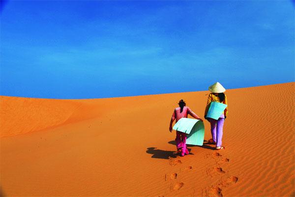 Bình Thuận - Những đồi cát vàng mênh mông