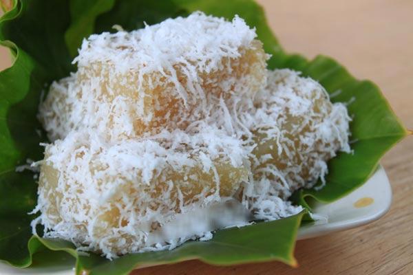 ẩm thực đường phố Thái Lan: : Bánh dừa