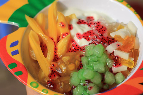 ẩm thực đường phố Thái Lan: : Chè thái