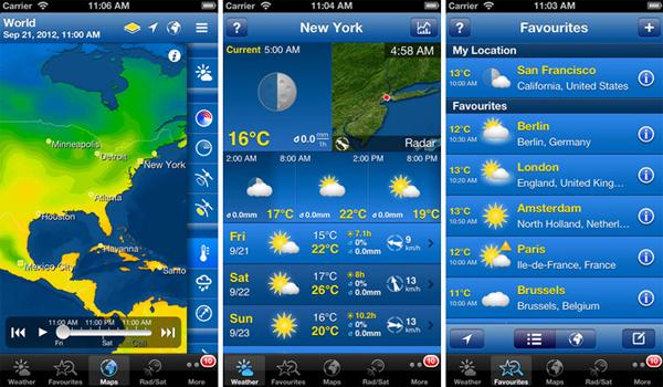 Ứng dụng xem thời tiết