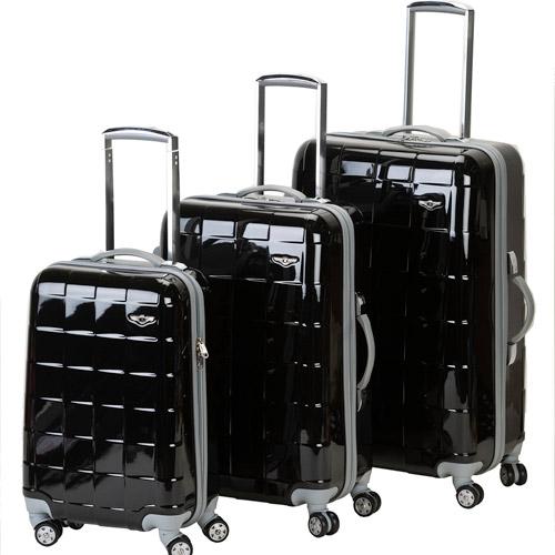 Những chiếc vali bằng chất liệu  polycarbonate trông rất đẹp mắt, bền nhưng lại khá nặng
