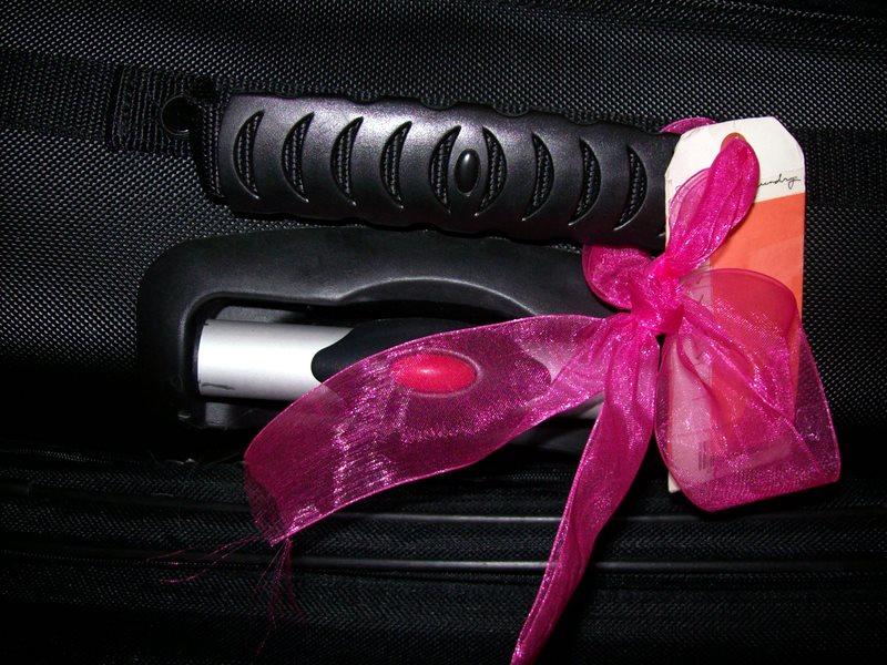 Những chiếc ruy băng hay tag sặc sỡ sẽ giúp bạn dễ dàng nhận diện vali của mình