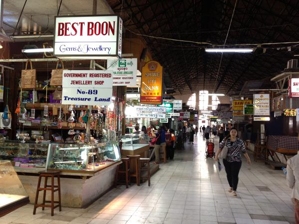 Kinh nghiệm du lịch Myanmar: Chợ Bogyoke