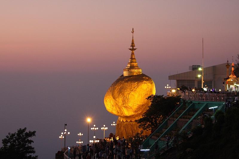 Kinh nghiệm du lịch Myanmar - Golden Rock