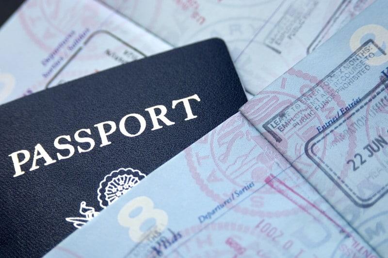 mất passport