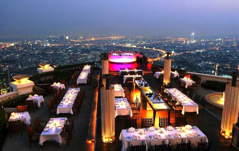 Một góc thành phố Bangkok nhìn từ trên cao