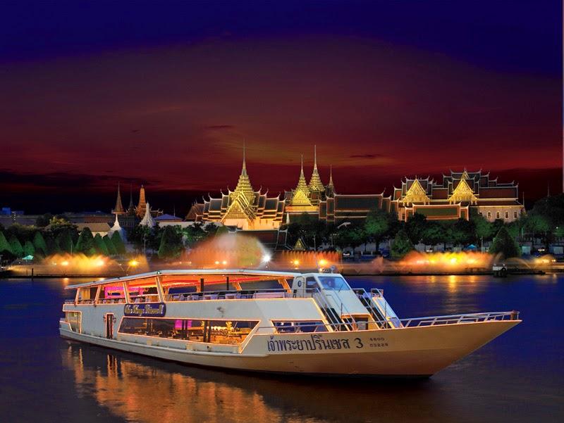 Du thuyền trên sông Chao Praya