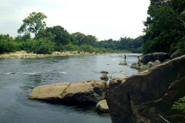 Suối Teuk Chhou ở tỉnh Kampot