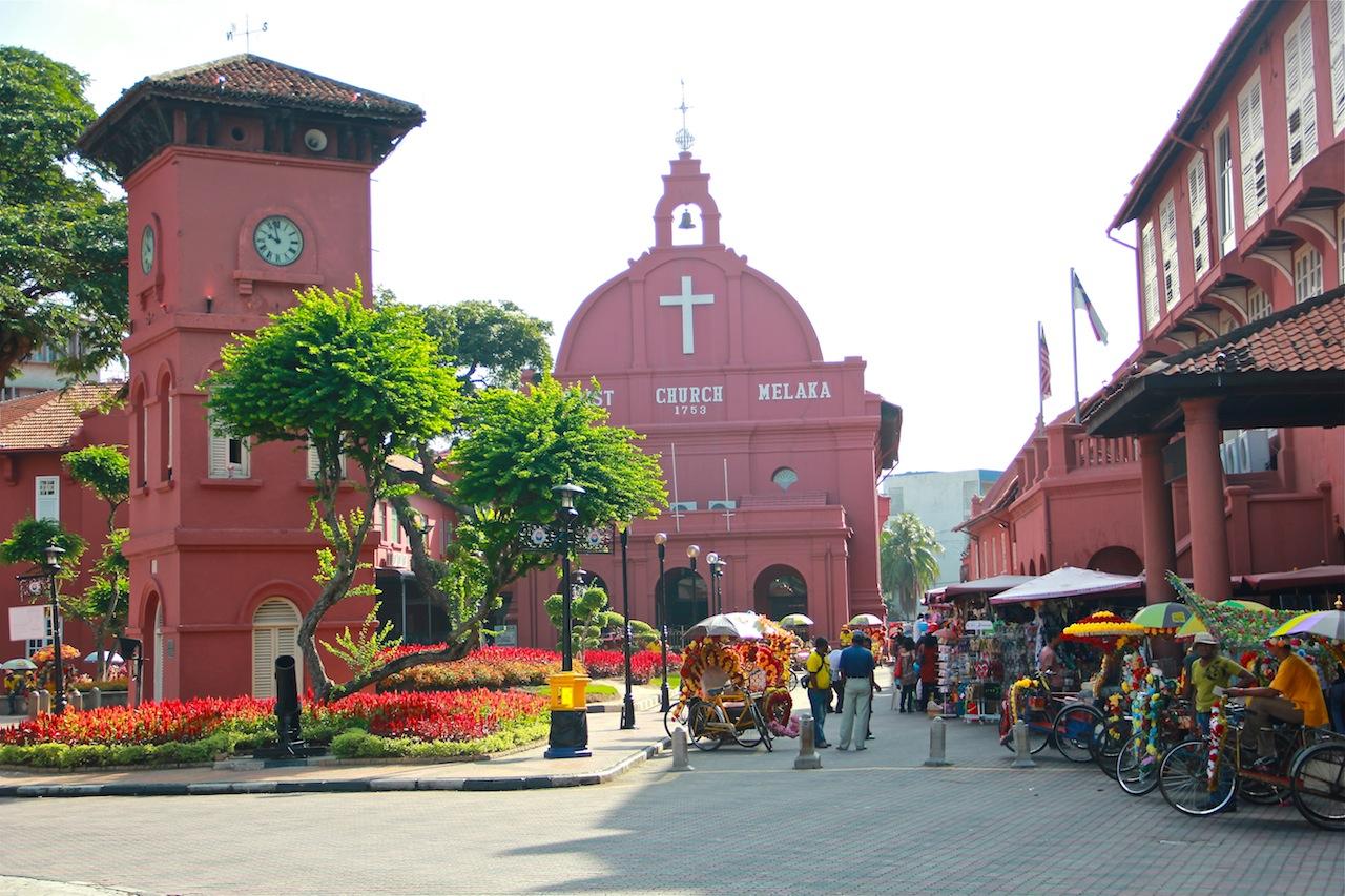Malacca từng là thương cảng rất sầm uất
