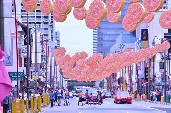 Cam nang du lich singapore - đường phố