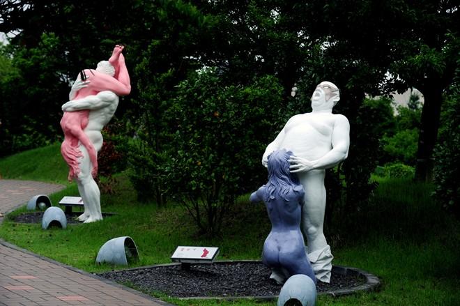 Công viên tình yêu tại đảo Jeju
