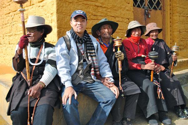 chuyen-kinh-luan, mua sắm ở Tây Tạng