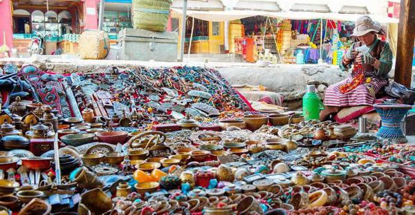 mua sắm ở tây tạng, thủ công mỹ nghệ
