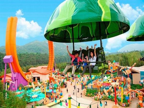 Cảm nhận những trò chơi thú vị ở Disneyland Hongkong