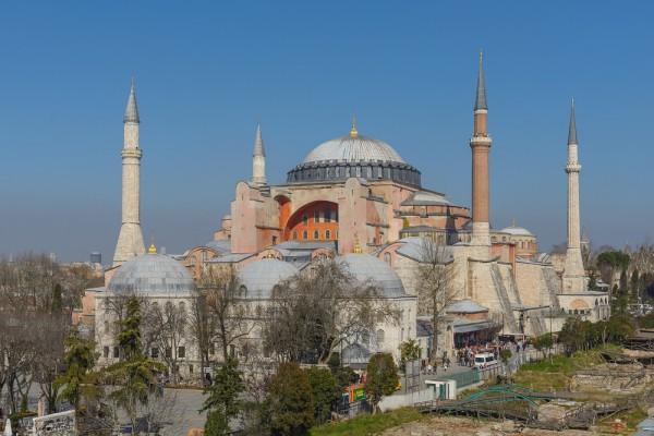 Toàn cảnh thánh đường Hagia Sophia
