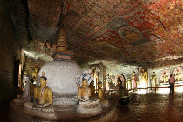 Đền thờ động Dambulla