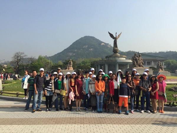Ảnh thực tế tour du lịch Hàn Quốc do Migola Travel tổ chức
