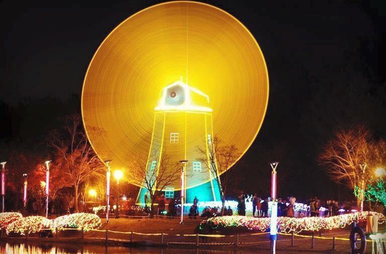 Lễ hội ánh sáng tại Hàn Quốc. Ảnh 1