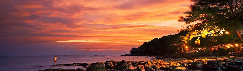 Sihanoukville là một điểm du lịch có thể nghỉ ngơi bên bờ biển, thưởng thức hải sản tươi sống, lặn, giảm căng thẳng và vui chơi.