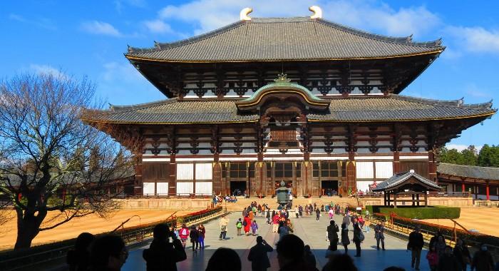 Đền Todaiji còn là một chứng tích lịch sử ở Nhật Bản.