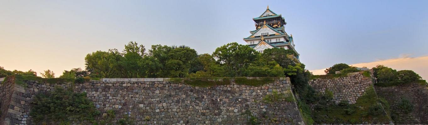Lâu đài Osaka - biểu tượng của thành phố Osaka