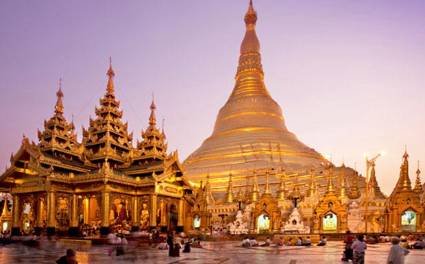 Chùa Shwedagon - Myanmar