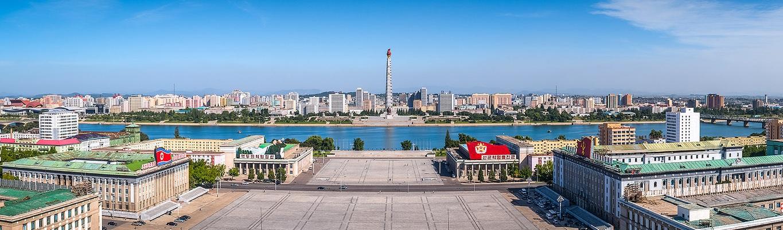 Tháp Chủ Thể, được xây dựng từ năm 1982, tượng trưng cho ý chí tự lực, tự vệ của Triều Tiên được xây dựng nhân kỷ niệm 70 năm ngày sinh của nhà lãnh đạo Kim Nhật Thành.