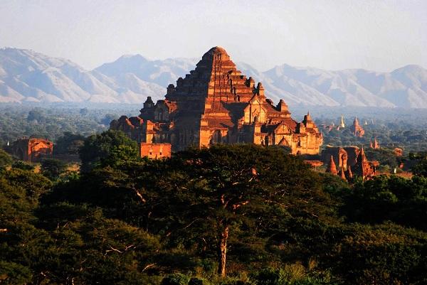 Dhammayangyi được xem là ngôi đền phật giáo lớn nhất tại khu di tích Bagan
