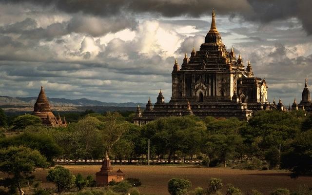 Đền Thatbyinnyu được coi là ngôi đền phật giáo cao nhất ở Bagan