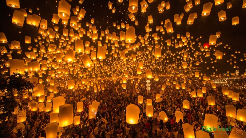 Lễ Hội Hoa Đăng Loi Krathong Thái Lan
