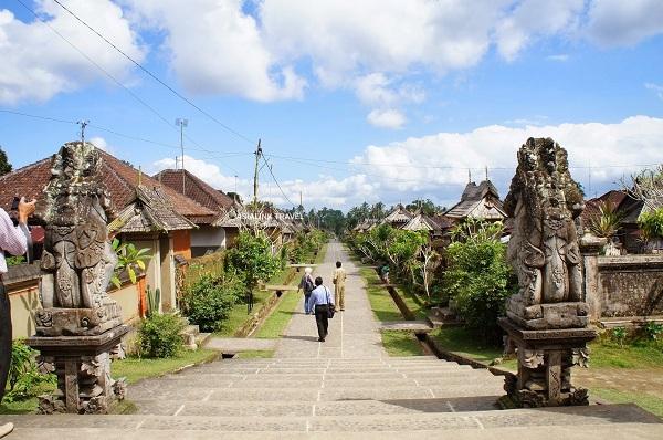 Kiến trúc cổ xưa của Làng Batubulan