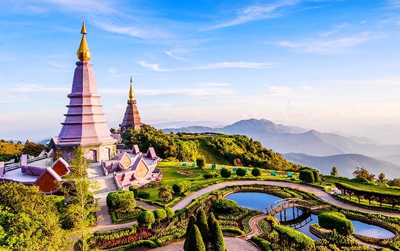 Đến Chiang Mai, du khách sẽ không khó khăn để tìm kiếm những cảnh đẹp nơi đây