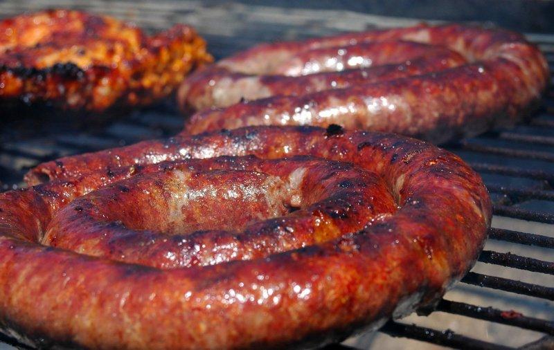 Món Boerewors là một món ăn rất phổ biến ở Nam Phi