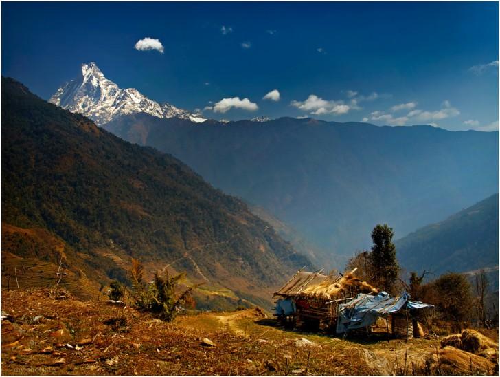 Vùng núi Annapurna là địa điểm thú vị dành cho du khách ưa thích mạo hiểm