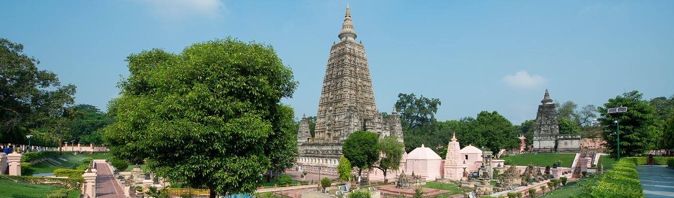 Bồ Đề Đạo Tràng - nơi đức Phật chứng ngộ thành Phật sau 49 ngày đêm thiền tịnh dưới cội cây Bồ Đề. Tháp Đại Giác – một trong những nơi linh thiêng nhất trong bố Tứ Động Tâm