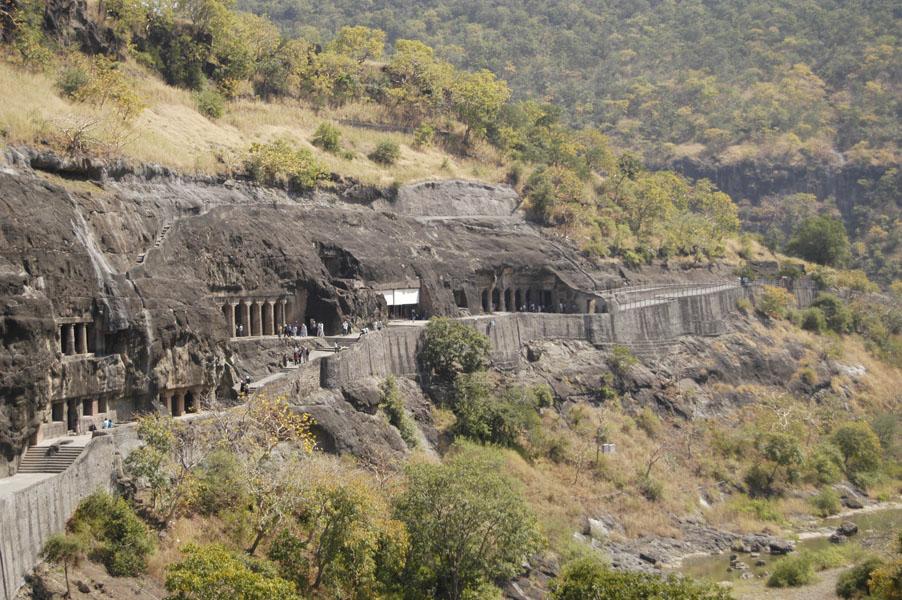 Dãy chùa hang Ajanta