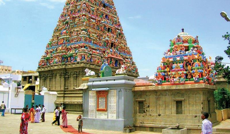 Đền thờ Kapaleeswarar, Ngôi đền điển hình cho phong cách kiến trúc Dravidian