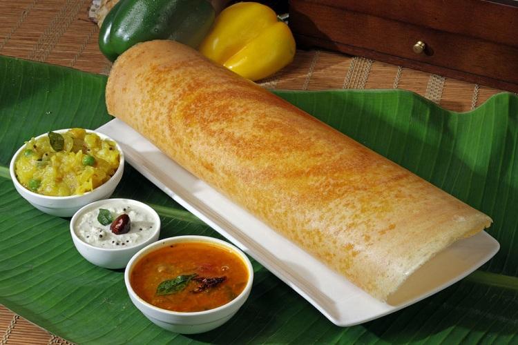 Dosa là món ăn để dâng lên thần Vishnu