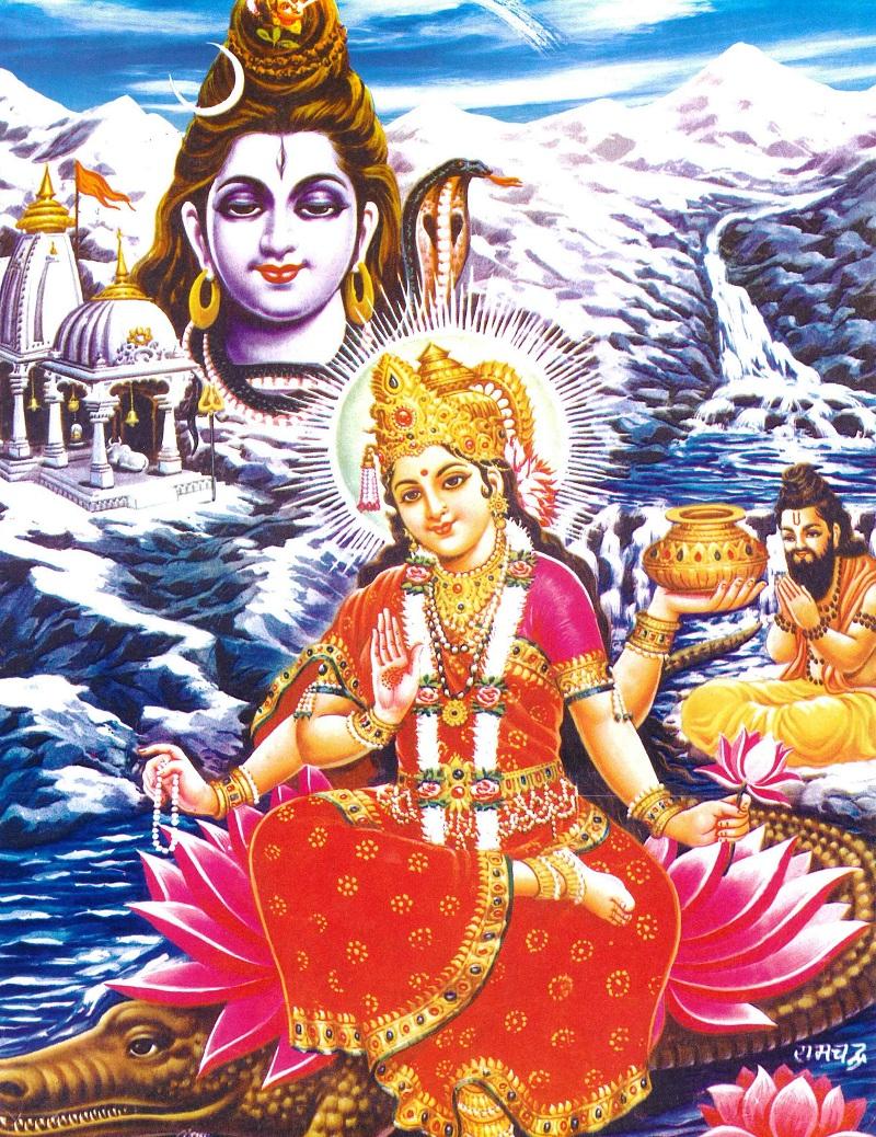 Kết quả hình ảnh cho vua Bhagiratha
