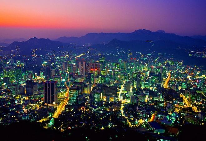 Toàn Cảnh Thủ Đô Seoul Về Đêm