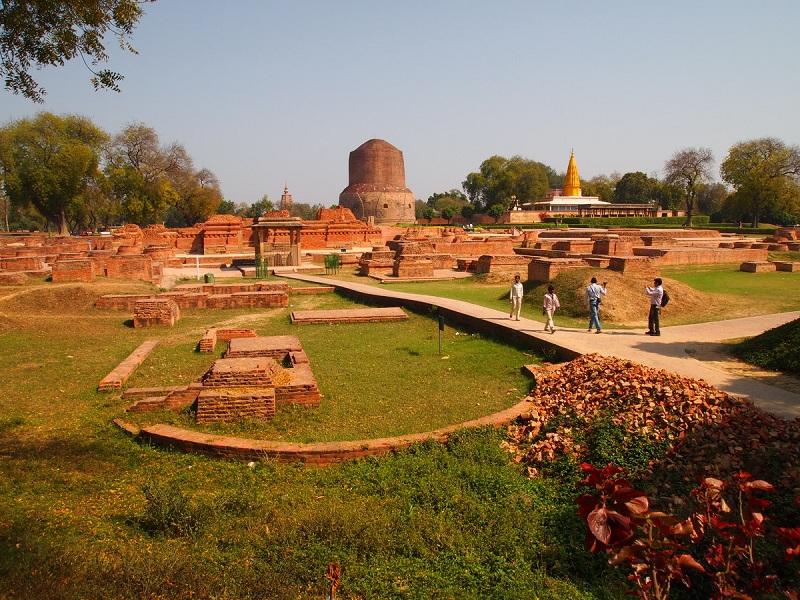 Vườn Lộc Uyển - nơi đầu tiên đức Phật giảng pháp