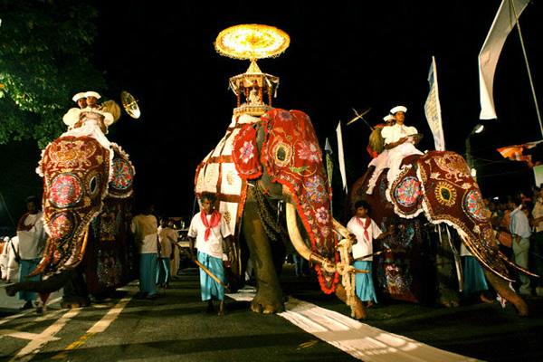 Lễ hội rước xá lợi Răng Phật là lễ hội Phật giáo lớn nhất ở Sri Lanka