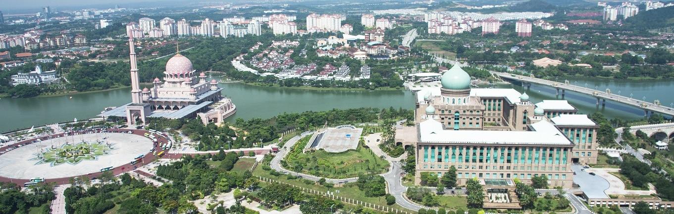 Thành phố mới New Putrajaya - một trong những thành phố thông minh và hiện đại bậc nhất trên thế giới.