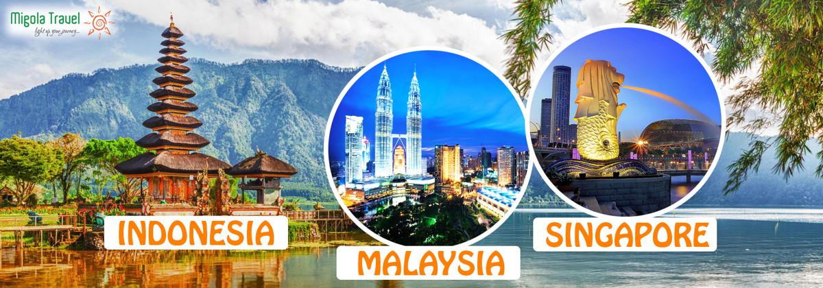 Tour indonesia - malaysia - singapore