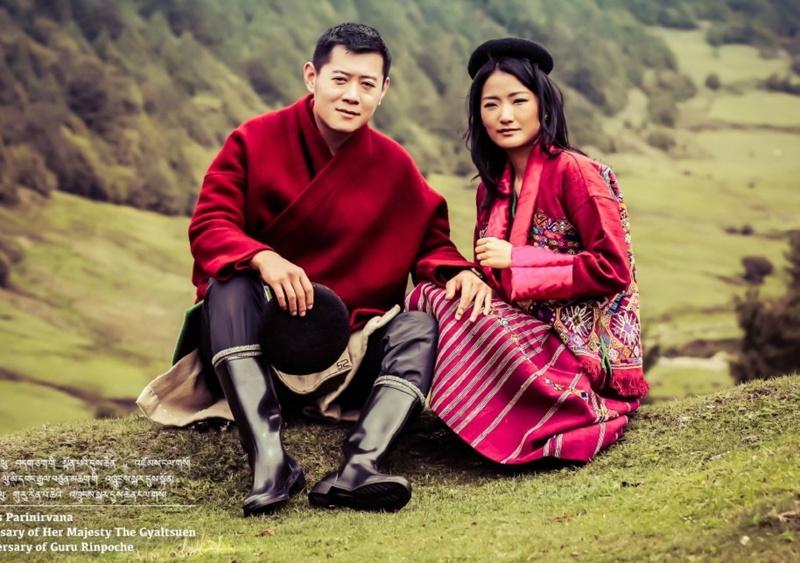 anh-vua-hoang-hau-bhutan