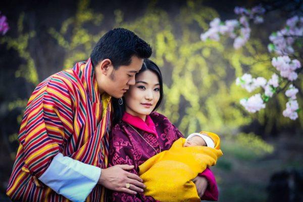 gia dinh vua bhutan