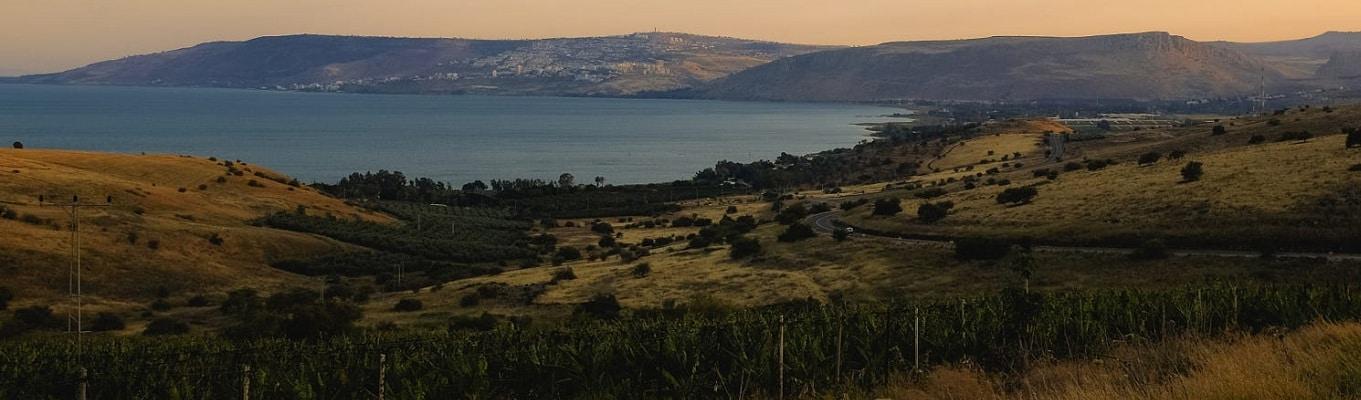 Biển Hồ Galilee - vùng đất nơi Chúa Jesu sinh sống trong 30 năm đầu đời