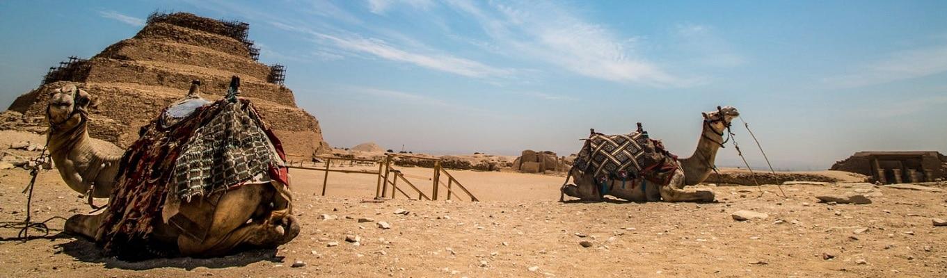 Kim Tự Tháp bậc thang Djoser, cao 62m. Đây là một công trình nổi trội ở Saqqara Necropolis, đóng một vai trò quan trọng trong khu phức hợp được dùng để thể hiện sự tôn kính dành cho Pharaoh Djoser.