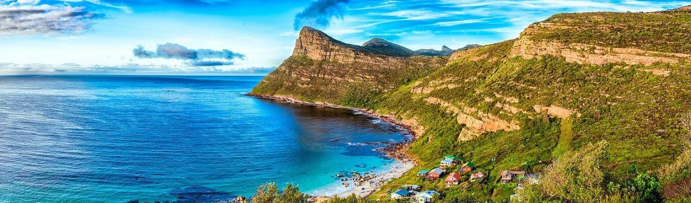 Mũi Điểm (Cape Point), nơi giao nhau giữa hai đại dương Đại Tây Dương và Ấn Độ Dương